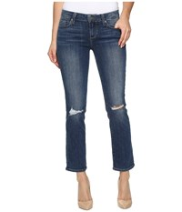 Paige Miki Straight In Keiran Destructed Keiran Destructed Women's Jeans Blue