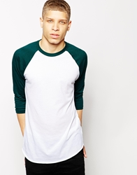 American Apparel Raglan Top Whiteforest