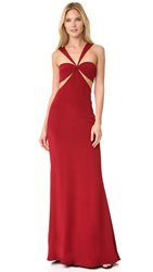 Cushnie Et Ochs The Eva Gown Ruby