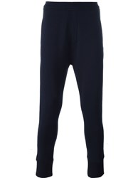 Neil Barrett Tapered Track Pants Blue