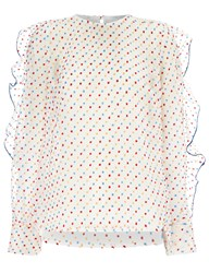 Alice Mccall White Chiffon Our Love Blouse