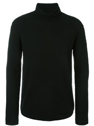 Helmut Lang Turtleneck Pullover Black