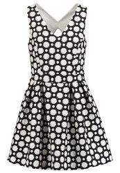 Kookai Summer Dress Noir Blanc Black
