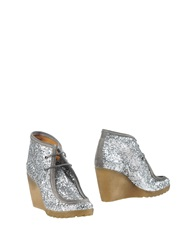 Jfk Ankle Boots Silver