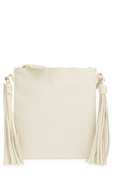 Big Buddha Woven Crossbody Bag Bone