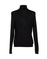 Les Hommes Knitwear Turtlenecks Men Black