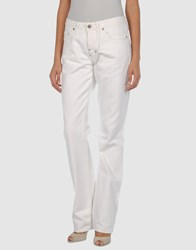 Parasuco Cult Denim Denim Trousers Women White