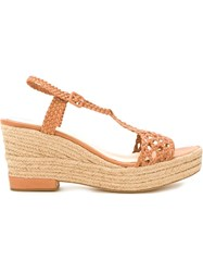 Paloma Barcelo 'Camille' Sandals Brown