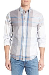 Men's Gant 'Telltail' Trim Fit Madras Plaid Sport Shirt