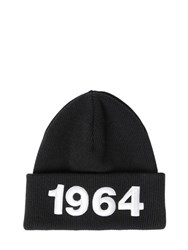 Dsquared 1964 Patches Wool Beanie Hat