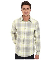 Marmot Zephyr Long Sleeve Yellow Men's Long Sleeve Button Up