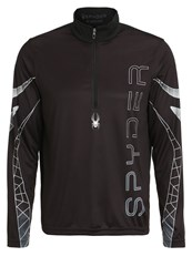 Spyder Powertrack Sports Shirt Black