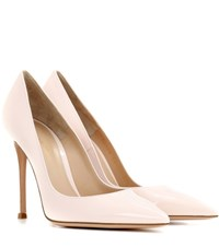 Gianvito Rossi 105 Patent Leather Pumps Pink