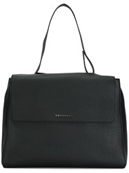 Orciani Top Handle Tote Black