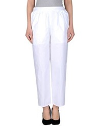 Carven Casual Pants White