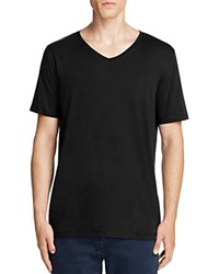 Hugo Danny V Neck Tee Black