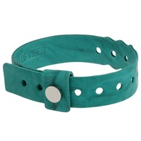 Cast Of Vices Leather Concert Bracelet Turquoise