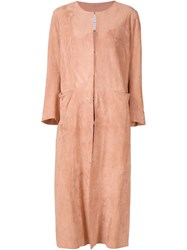 Adam By Adam Lippes Adam Lippes Suede Coat Nude And Neutrals