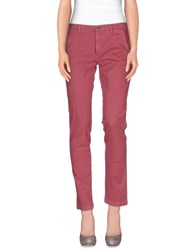 7 For All Mankind Trousers Casual Trousers Women Dark Purple