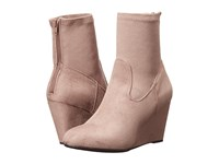 Chinese Laundry Upscale Grey Suedette Women's Boots Gray