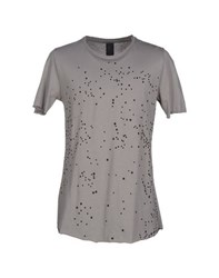 Pure Topwear T Shirts Men Grey
