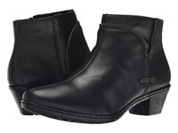 Rieker 76970 Black Cristallino Black Fino Women's Dress Boots