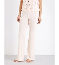 Wildfox Couture Lounge Stretch Jersey Pyjama Bottoms Peachy Keen