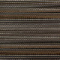 Chilewich Multi Stripe Self Bound Rug Harvest 59X92cm