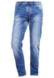 Boss Orange 63 Relaxed Fit Jeans Bright Blue
