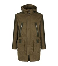 Lot 78 Parka Coat Male Green