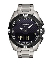 Tissot Mens T Touch Solar Chronograph Watch Black