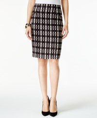 Alfani Plaid Pencil Skirt Only At Macy's Elegant Plaid