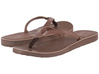 Scott Hawaii Pikake Chocolate Women's Sandals Brown