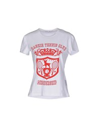 Frankie Morello Topwear T Shirts Women Red