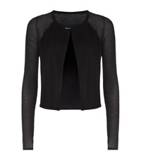 Elie Tahari Mikah Cropped Cardigan Female