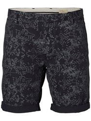 Selected Homme Print Shorts Navy