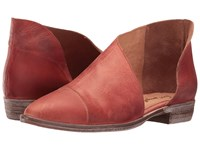 Free People Royale Flat Red Women's Flat Shoes