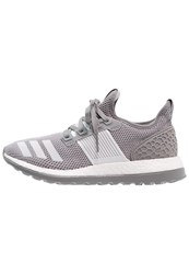 Adidas Performance Pureboost Zg Neutral Running Shoes Solid Grey Crystal White