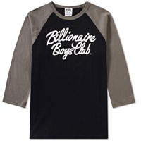 Billionaire Boys Club Script Logo Raglan Tee Grey