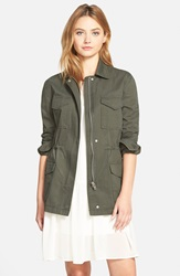 Cupcakes And Cashmere 'Presidio' Military Jacket Nordstrom Exclusive Army Green