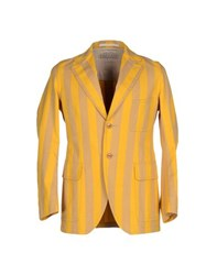 Haver Sack Suits And Jackets Blazers Men Yellow