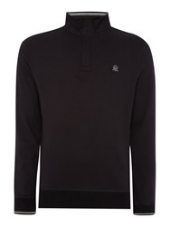 Duck And Cover Jakes Sweatshirt Black