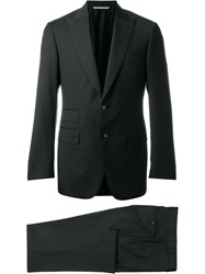 Canali Formal Suit Black
