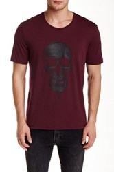 The Kooples Skull Graphic Tee Red