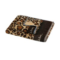 Roberto Cavalli Africa Towel Brown Hand Towel