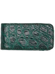 Santiago Gonzalez Long Wallet Green