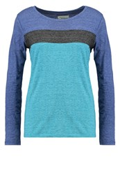 Twintip Long Sleeved Top Turquoise Blue