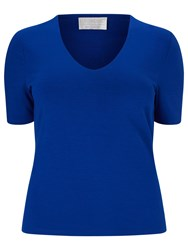 Windsmoor Basic Jersey Top Bright Blue