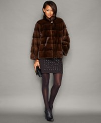The Fur Vault Mink Fur Jacket