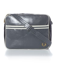 Fred Perry Synthetic Messenger Bag Grey
